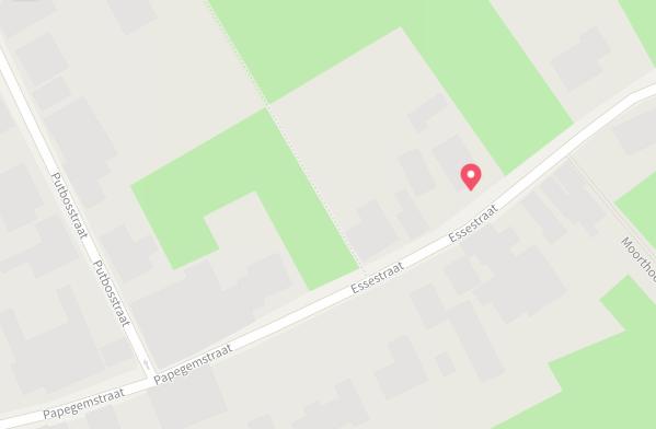 juiste plaats adres